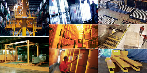 Pallet Container Handling System Equipments