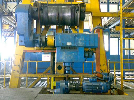 ETV Hoist and Travelling Motor